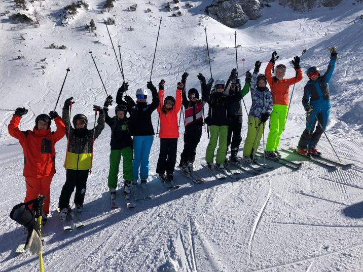 Skigruppe 4